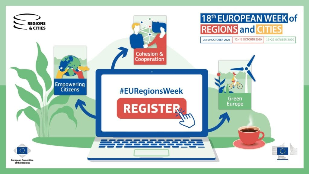 week of regions and cities